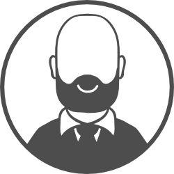 man profile placholder